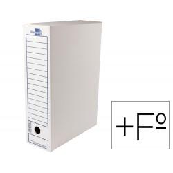 Caja archivo definitivo liderpapel carton 340 g/m2 folio prolongado