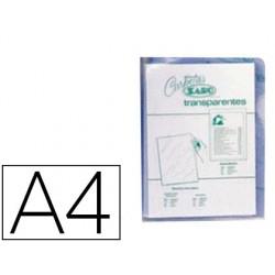 Carpeta dossier uñero saro pvc din a4 280 mc transparente