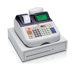 Registradora olivetti ecr 8200 profesional display lcd grafico 99 departamentos funcion especifica