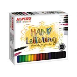 Set de dibujo alpino color experience lettering