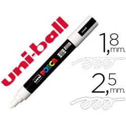 Rotulador uni posca marcador de pintura blanco punta redonda 1,8 a 2,5 mm