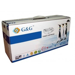 Compatible G&G KYOCERA TK580 AMARILLO CARTUCHO DE TONER GENERICO 1T02KTANL0