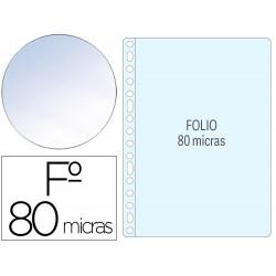 Funda multitaladro q-connect folio 80 mc piel de naranja caja de 1400 unidades