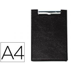 Carpeta saro con pinza din a4 plastico negro