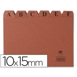 Indice fichero carton -nº 3 -tamaño 10x15