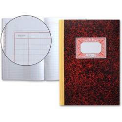 Libro miquelrius cartone 3016 folio 100 hojas cuentas corrientes -debe haber y saldo