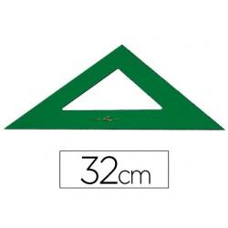 Escuadra faber 32 cm plastico verde