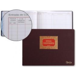 Libro miquelrius n. 42 folio apaisado 100 hojas -entrada de correspondencia