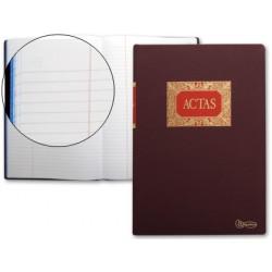 Libro miquelrius folio 100 h. -actas