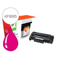 Toner compatible q-connect canon lbp710m i-sensys lbp-710 / 712 magenta 10000 paginas