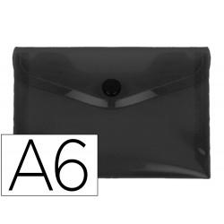 Carpeta liderpapel dossier broche polipropileno din a6 negro opaco