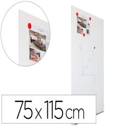 Pizarra blanca rocada rd-6420r skin modular sin marco superficie lacada magnetica 75x115 cm