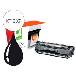 Toner compatible q-connect canon fx10-xl i-sensys fax l-100 / 120 xxl negro 4000 paginas