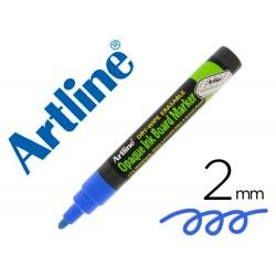 Rotulador artline pizarra epd-4 color azul opaque ink board punta redonda 2 mm