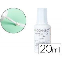 Corrector q-connect frasco 20ml aplicador espuma