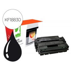 Toner compatible q-connect canon c724-hy i-sensys lbp 6750 / 6780 alto rendimiento negro 12500 paginas