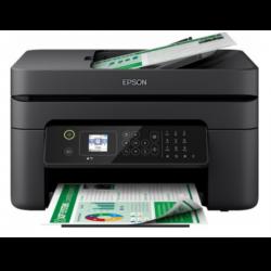Equipo multifuncion epson workforce wf-2830dwf tinta color 33 ppm / 18 ppm escaner fax duplex a4 bandeja 100 h