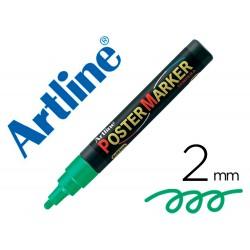 Rotulador artline poster marker epp-4-ver punta redonda 2 mm