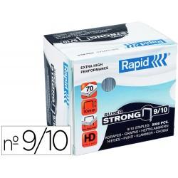 Grapas rapid super strong galvanizadas nº9/10 caja de 5000