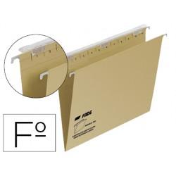 Carpeta colgante fade tiki folio prolongado visor superior 290 mm efecto lupa kraft eco 230 g/m lomo v