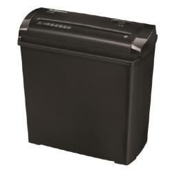 Destructora de documentos fellowes p-25s capacidad de corte 5 hojas corte en tiras papelera 11 litros