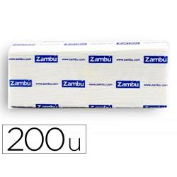 Toalla de papel secamanos dahi z celulosa 2 capas caja con 20 paquete de 200 unidades