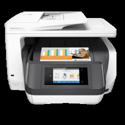 Equipo multifuncion hp officejet pro 8730 tinta color 24 ppm / 20 ppm escaner fax copiadora impresora wifi