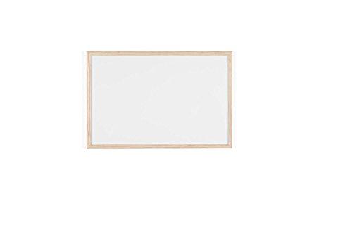 Bi-Office Budget - Pizarra blanca con marco de madera, 60 x...
