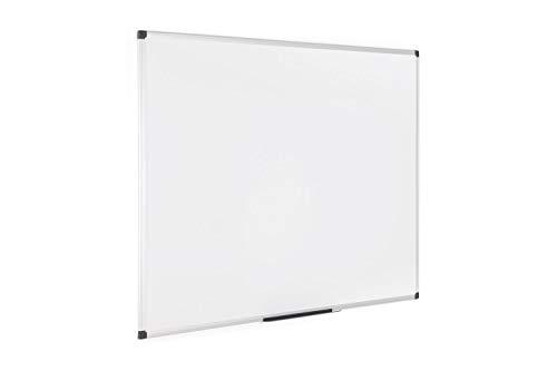 Bi-Office Maya, Pizarra blanca magnética con marco de...
