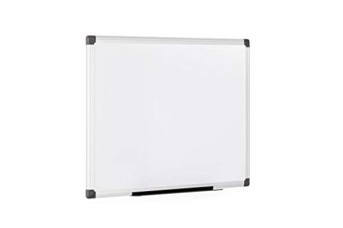 Bi-Office Maya - Pizarra blanca magnética con marco de...