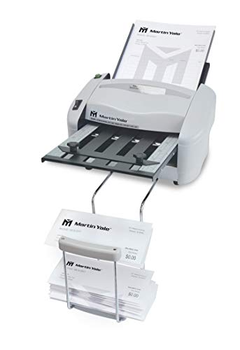Martin Yale P7400 - Máquina para doblar papel automática