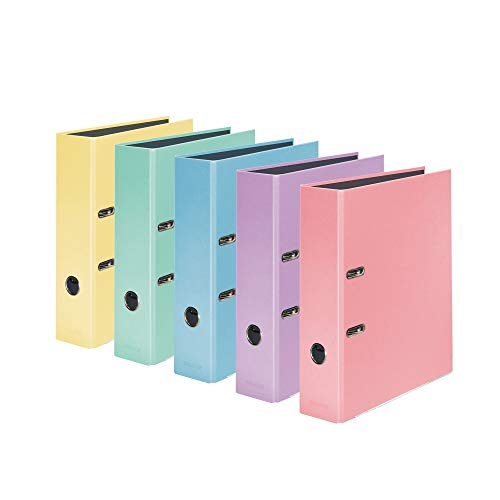 Falken - Carpeta en colores pastel, color varios colores A4