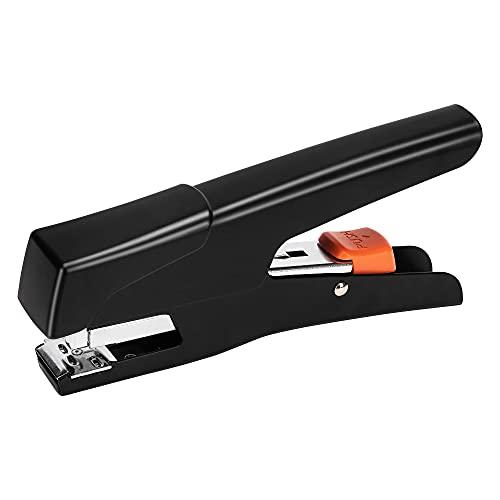 Amazon Basics - Grapadora manual de tenaza sin esfuerzo, 25...