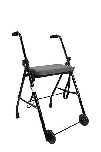 KMINA - Andador para ancianos, Andador plegable y ligero,...
