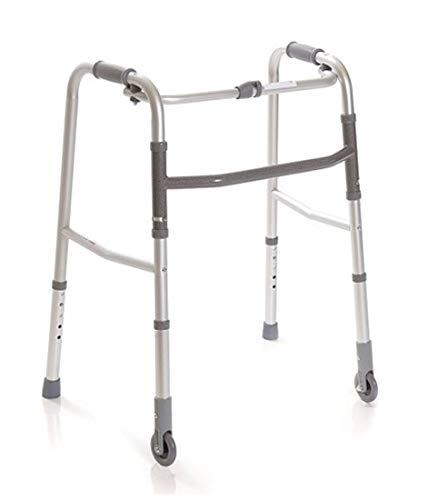 Andador Caminador Plegable para Ancianos, regulable en...