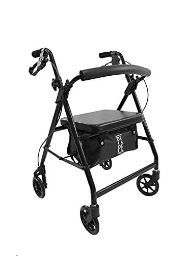 PEPE - Andador para Ancianos Plegable, Andadores para...