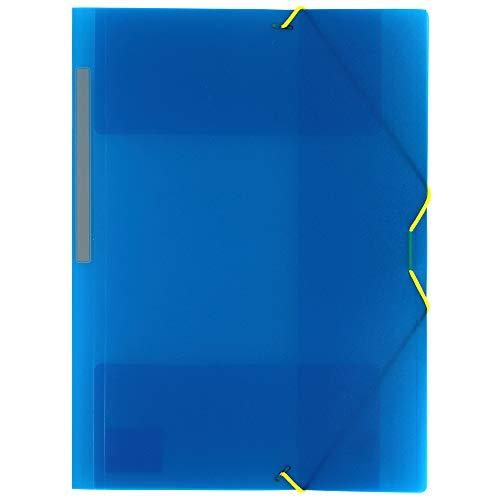 Grafoplás 04801230-Carpeta 3 solapas de Polipropileno con...