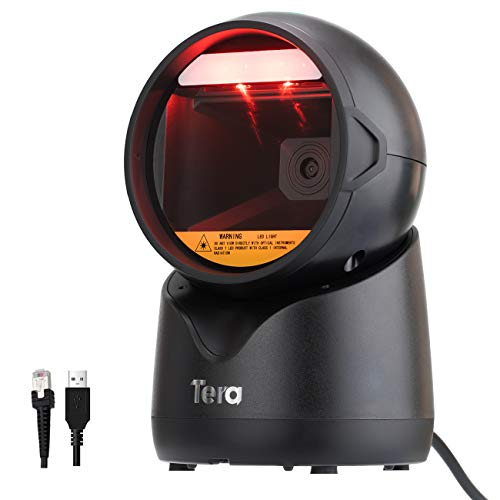 Tera Escáner de código de Barras 1D 2D QR Barcode Scanner...