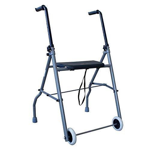 Andador de aluminio muy ligero, plegable y de fácil uso...
