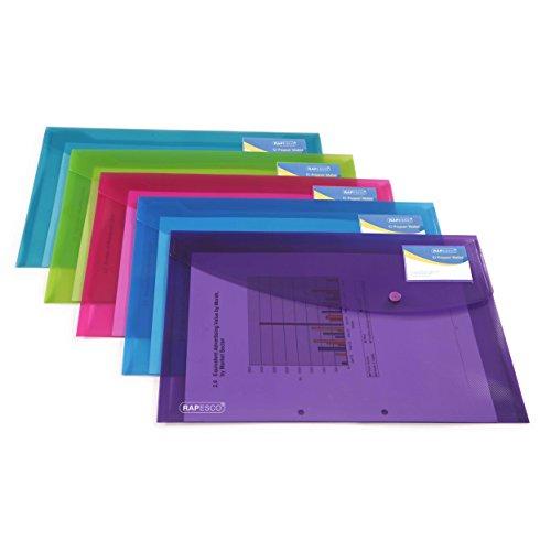 Rapesco documentos - Carpeta portafolios A4+ con soporte...