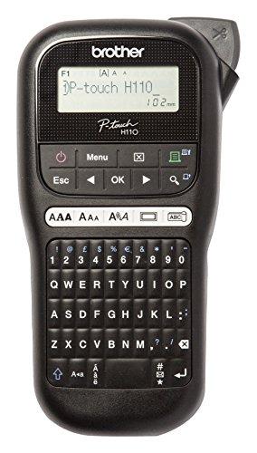 Brother PTH110 - Rotuladora electrónica de mano con diseño...