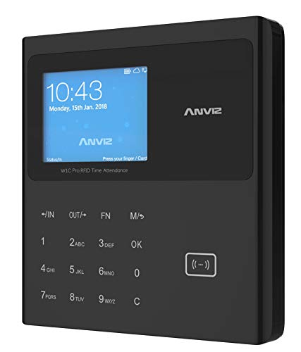 Anviz W1C Pro WiFi Detección de presencias: Tarjeta RFID y...