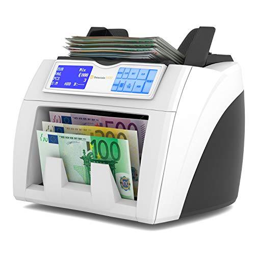 Detectalia S400 - Contador de billetes listo para los nuevos...