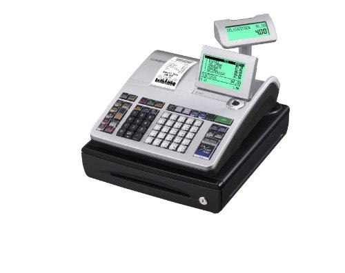 Casio SE-S400SB-SR GDPdU - Caja registradora (10 líneas en...