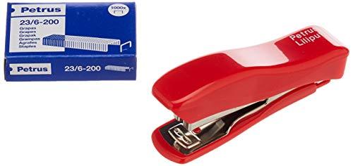 PETRUS 44767 - Grapadora modelo Liliput 200 + 1 Caja grapas...