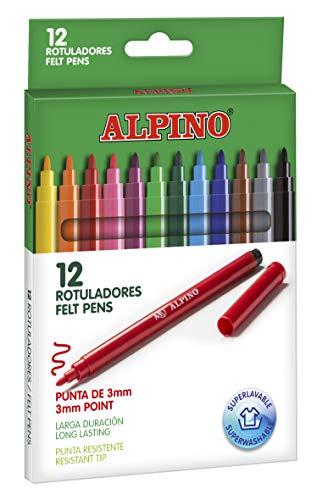Rotuladores Alpino Coloring para Niños - Estuche de 24...