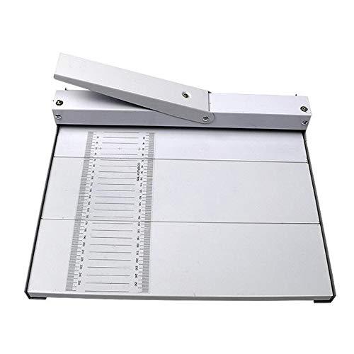 Máquina plegable de papel A3 prensa manual de marcado de...