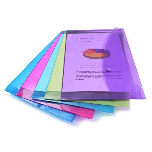 Rapesco 0688 Carpeta portafolios A4+ horizontal, 5 unidades,...