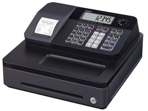 CASIO SE-G1SB Cash Register con pequeño cajón de efectivo,...