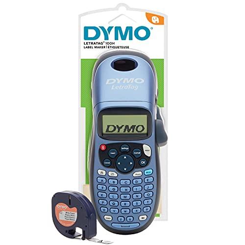 Dymo LetraTag LT-100H - Impresora de etiquetas, color azul